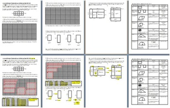 Area and Perimeter Problem Solving with Reference Sheet Fall 2010 with Key