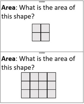 Area and Perimeter Problems for Third Graders