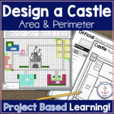 Area and Perimeter Project Based Learning distance learning