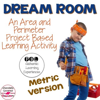 Area and Perimeter Project Based Learning Activity (Metric Version)