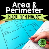 Area and Perimeter Project Floor Plan