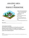 Area and Perimeter Project Packet