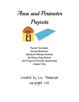 Area and Perimeter Projects