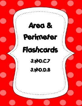 Area and Perimeter Quadrilateral Flashcards