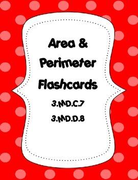Area and Perimeter Quadrilateral Flashcards