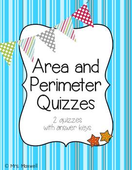Area and Perimeter Quizzes