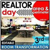 Area and Perimeter - Realtor Classroom Transformation