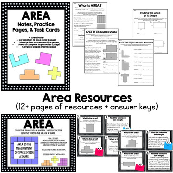 Area and Perimeter Resources for CC Standard 4.MD.3