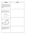 Area and Perimeter 4th Grade Journal FSA Review
