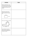 Area and Perimeter 4th Grade Journal FSA Review