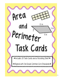 Area and Perimeter Review: Task Cards
