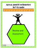 Area and Perimeter Review and Assessment - 3rd Grade