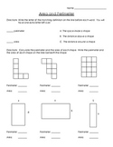 Area and Perimeter Review or Quiz