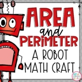 Area and Perimeter Robot Craft