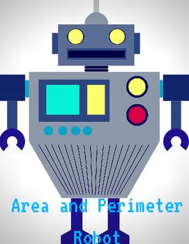 Area and Perimeter Robot Using Catchbook