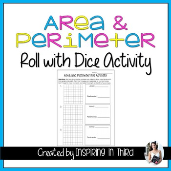 Area and Perimeter Roll Activity