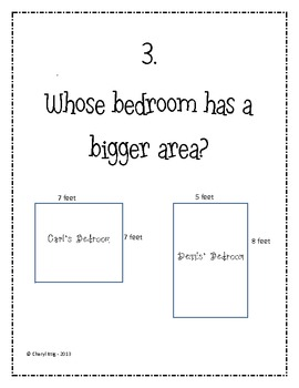 Area and Perimeter SCOOT/Task Cards