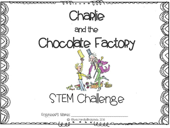 Area and Perimeter STEM - Charlie and the Chocolate Factory by Roald Dahl