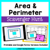 Area and Perimeter Review- A Scavenger Hunt