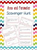 Area and Perimeter  Scavenger Hunt