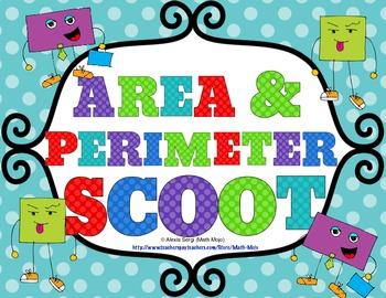 Area and Perimeter Scoot