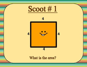 Area and Perimeter Scoot Game