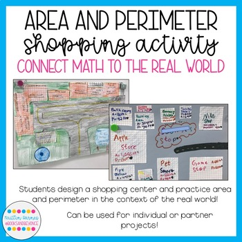 Area and Perimeter Shopping Activity