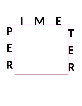 Area and Perimeter Sign