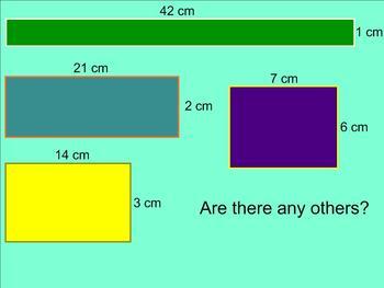 Area and Perimeter Smartboard Unit