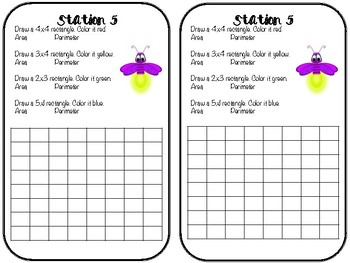 Area and Perimeter Stations