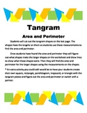 Area and Perimeter Tangram puzzles