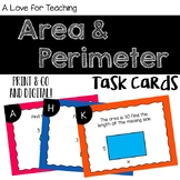 Area and Perimeter Task Cards {Digital}