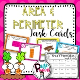 Area and Perimeter Task Cards 3.MD.C.5, 3.MD.C.6, 3.MD.C.7