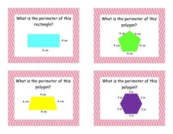 Area and Perimeter Task Cards-Scoot