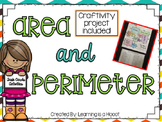 Area and Perimeter Task Cards and Craftivity