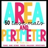 Area and Perimeter Task Mats
