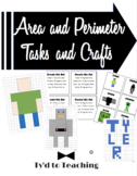 Area and Perimeter Tasks and Crafts *Editable*