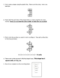 Area and Perimeter Tiling Activity and Instructions