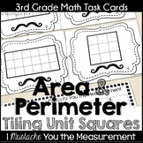 Area and Perimeter Tiling Unit Squares Task Cards