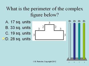 Area and Perimeter TurningPoint Clicker Presentation