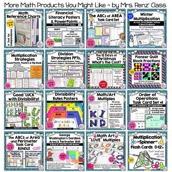 Area and Perimeter Worksheet  {USA FREEBIE}  A Fun Area & Perimeter Lesson