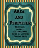 Area and Perimeter Unit