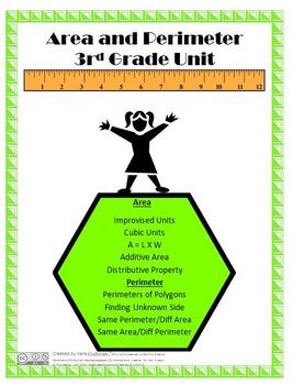 Area and Perimeter Unit - 3rd Grade