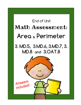 Area and Perimeter Unit Assessment