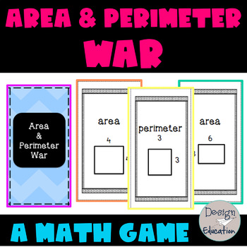 Area and Perimeter Activity War Game