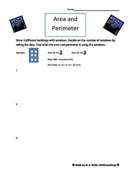 Area and Perimeter Windows