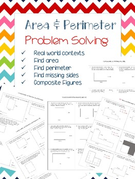 Area and Perimeter Word Problems