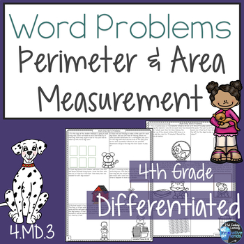Area and Perimeter Word Problems 4.MD.3