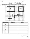 Area and Perimeter Worksheet