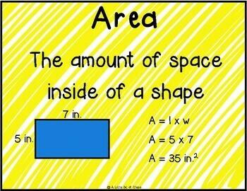 Area and Perimeter Worksheet Activities